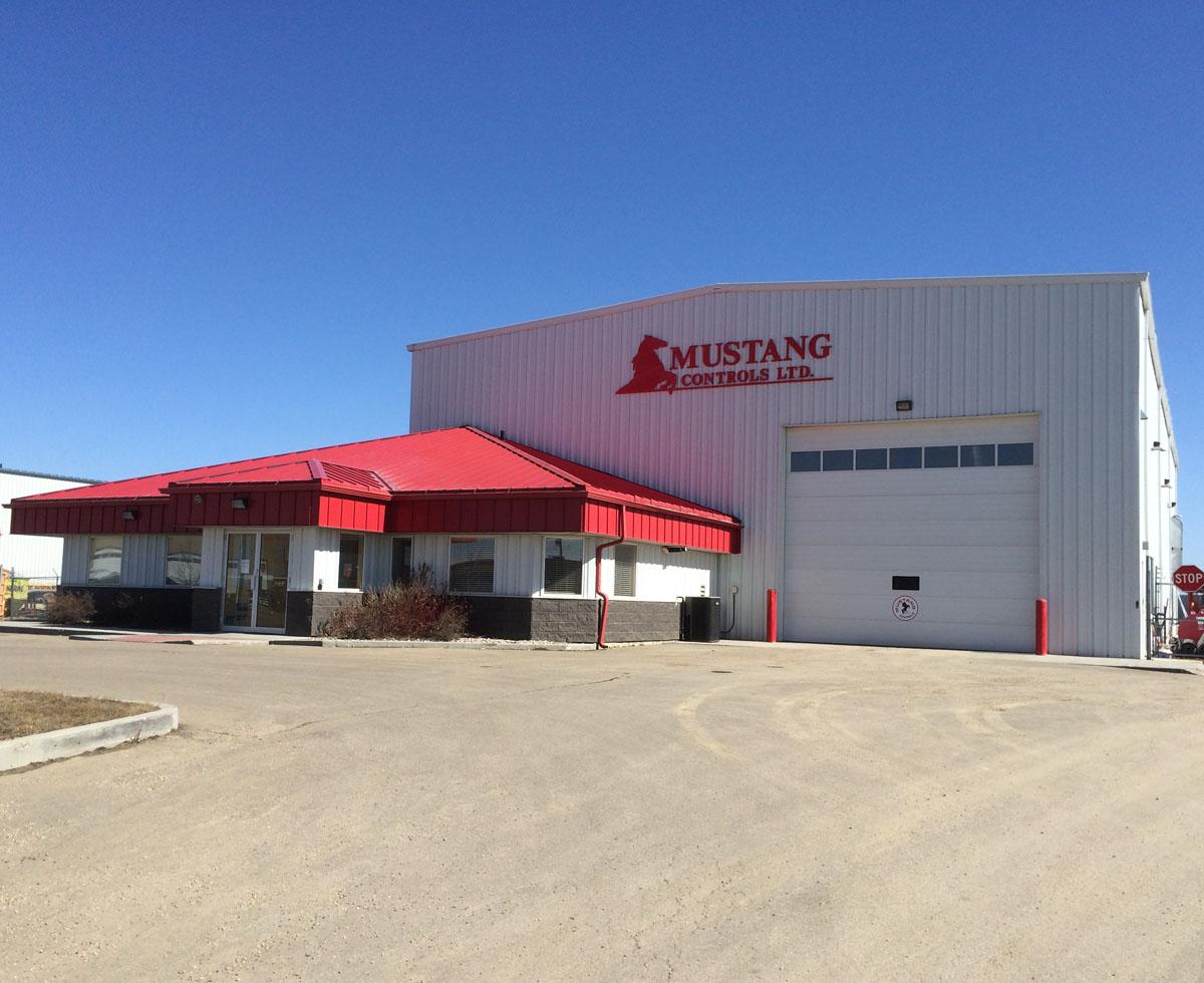 Mustang Controls Office Alberta Canada