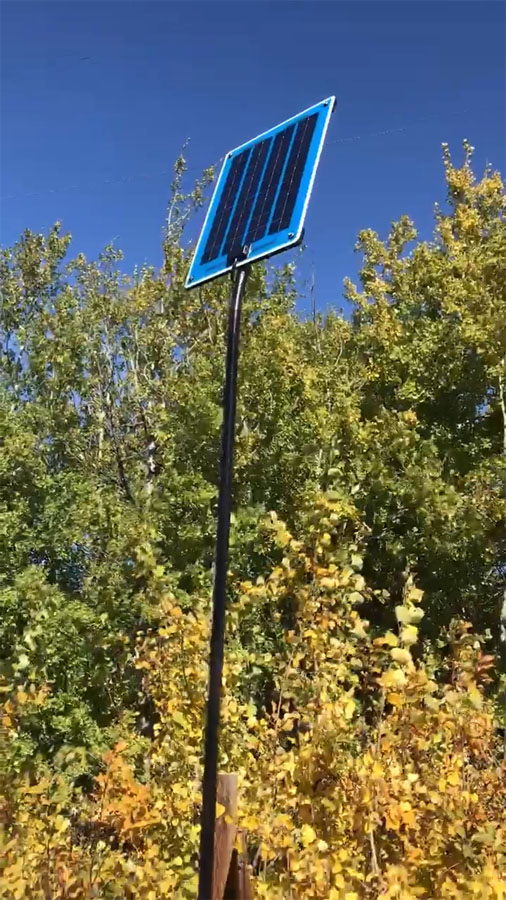 Automated Solar Panel Battery Charger
