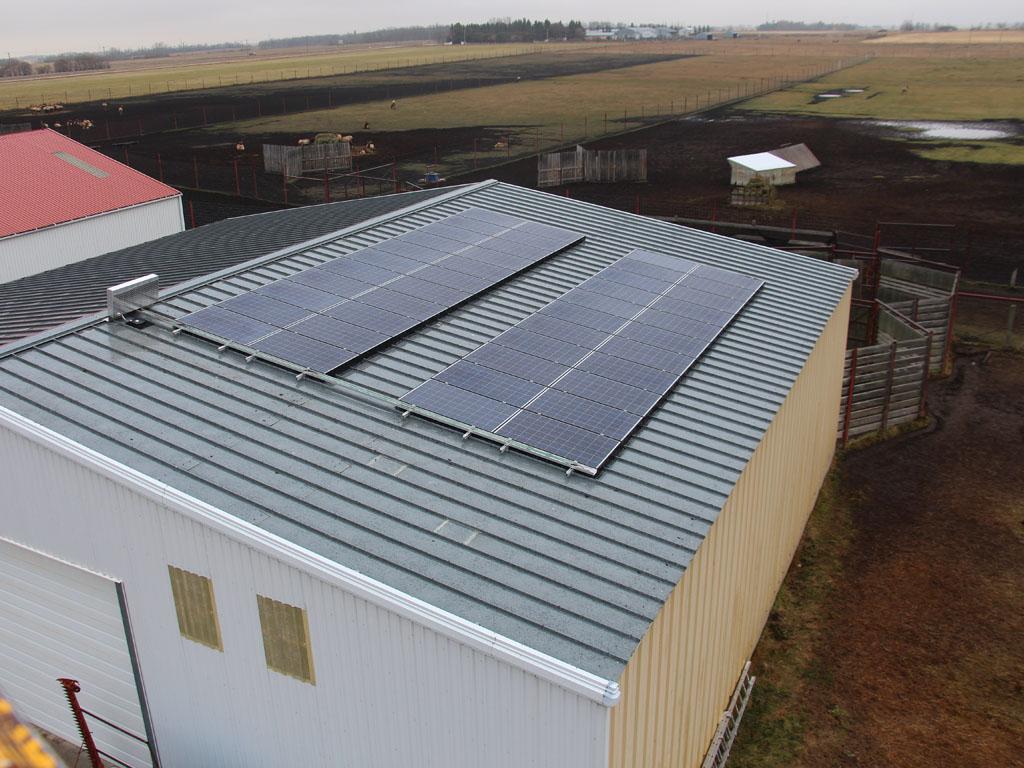 Farm Agriculture Solar Power Alberta Canada