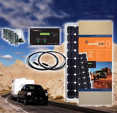 100 Watt Solar Kit Alberta Canada