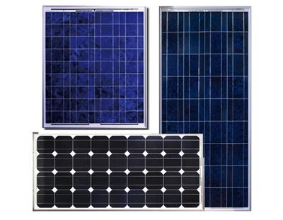 Solar Panels - 50W, 100W & 150W