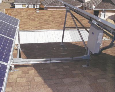 Rooftop Racking System Solar Panes Homes Alberta