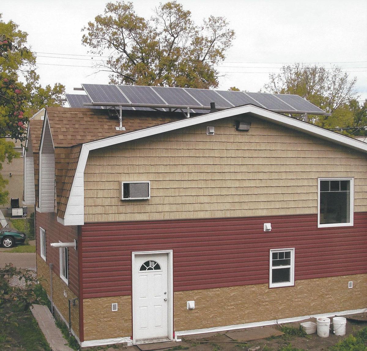 Solar Panel Rooftop System Alberta Canada