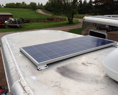 RV Solar Systems Alberta Canada